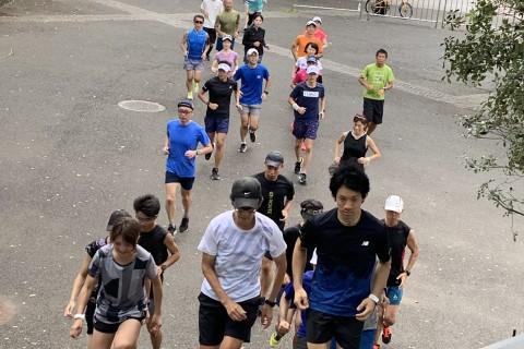 眠っている身体の細部に刺激を。『楽に速く走れる』ECOフォーム練習会 in東京