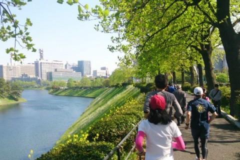 秋の基礎づくりRun~皇居30km走~