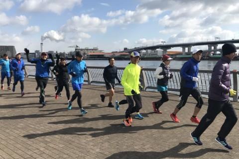 【毎週日曜の朝11時】30km走 sub4~3.75(神戸マラソン・大阪マラソン等)