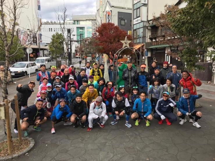 年末ランニングスペシャル「小田鎌」(40km)