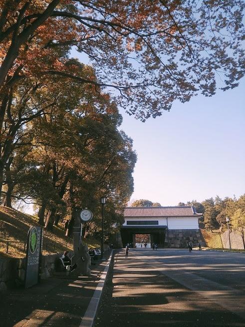 桜田門前 時計台近く