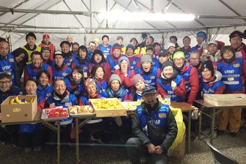 UTMF2020 山中湖きらら エイドボランティア