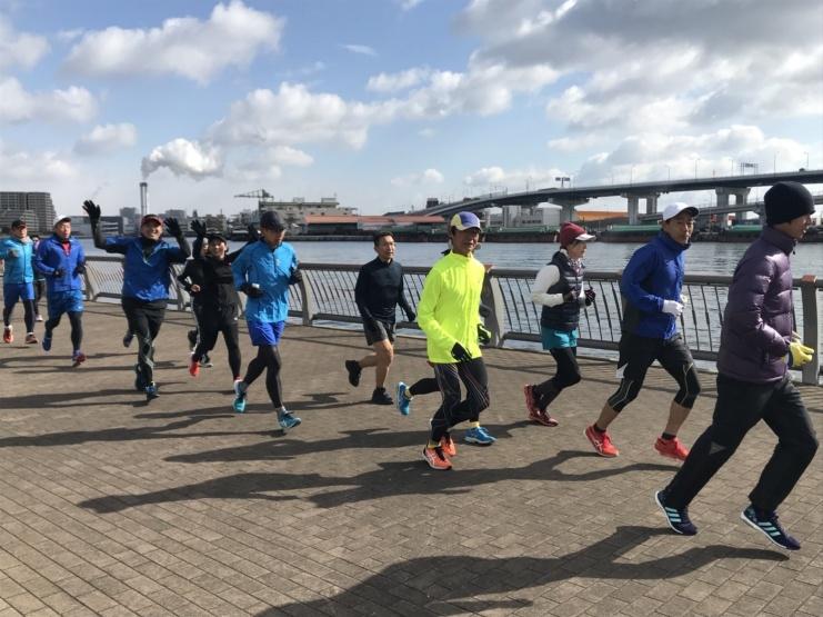 2/23(日)30km走 とくしまマラソン4週間前・名古屋Wマラソン2週間前