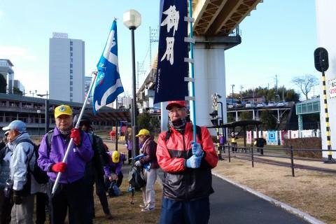 第19回 忠敬江戸入りフォーデーウオーク2日目 38km自由歩行 13km団体歩行