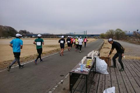 前橋・渋川シティマラソン30km走
