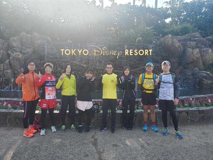 東京マラソン前 ディズニーラン30キロ(ペース目安:キロ7分)