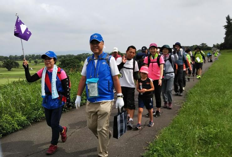 12km団体歩行スタート