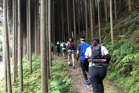 【嵐山musubi-cafe】西山スリーピークス☆トレイルラン