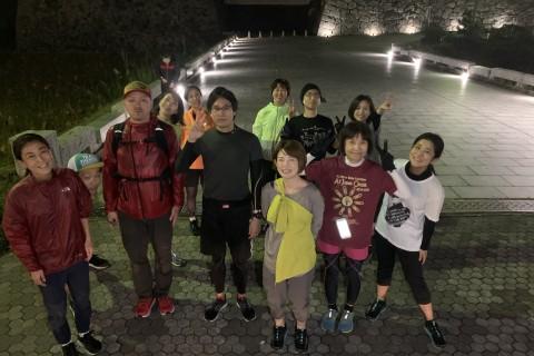 【水曜Night Run】港→西公園→大濠 ナイトラン(7-8km)【STRIDE LAB 福岡】