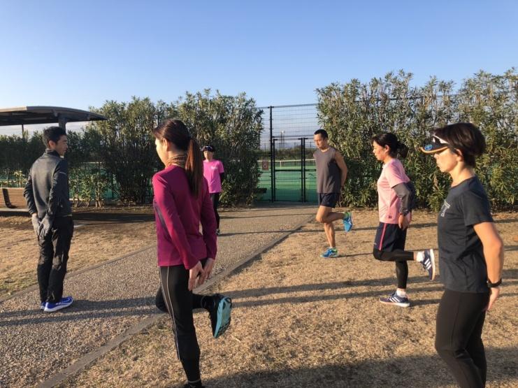 【3月練習会】ラチエンAC ドリル+イージーペース走30分