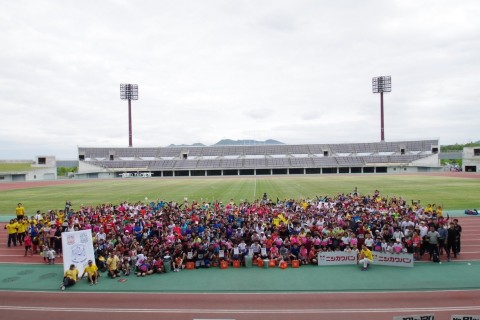 兵庫県 第5回パン食いdeリレーマラソンin 三木防災公園