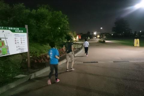 走り方を意識したランニング教室(スポーツ・健康の森公園)