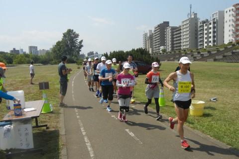 北海道マラソン教室30kmペース走トライアル