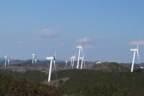 君は風車を見たか!? 青山高原 風の谷 春らら紀行 約29km (伊賀の湯 入浴券つき)