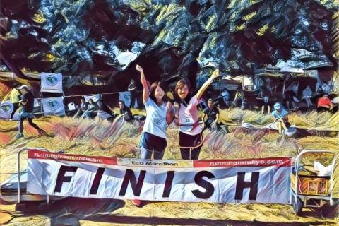 第19回鴨川エコマラソン(出雲路橋)