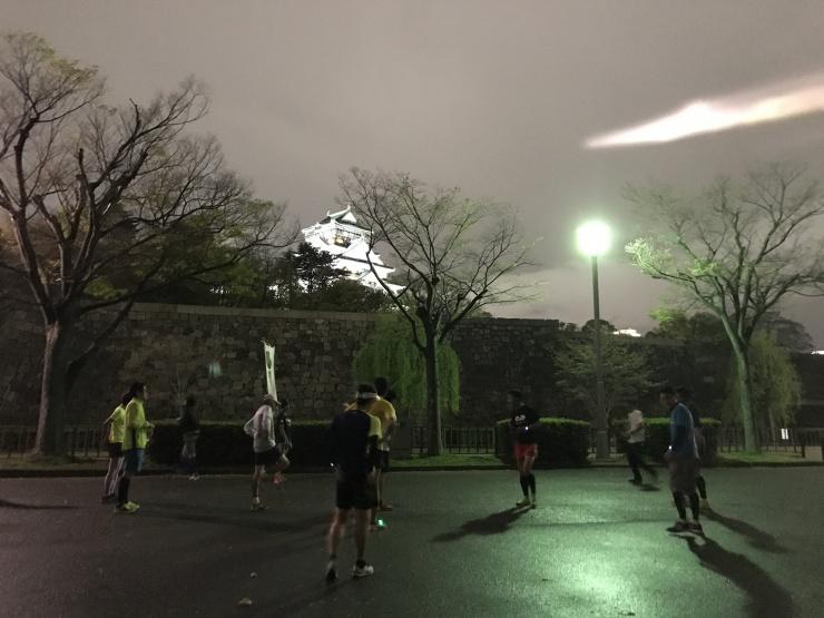 4月開催分 大阪城公園 走力アップナイトラン練習会