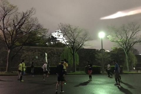 6月開催分 大阪城公園 水曜&木曜 走力アップナイトラン練習会