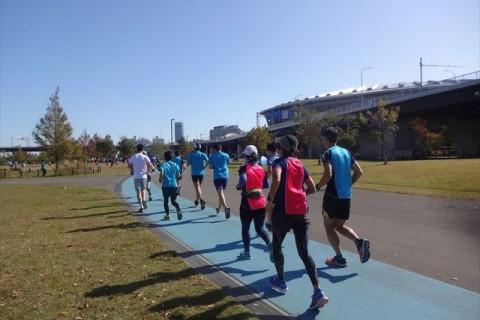 ~ウルトラマラソンに向けて~ 新横浜公園LSD&5時間走