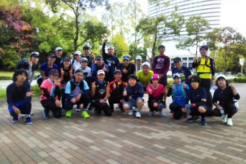 11/8(日)神戸マラソン後半試走
