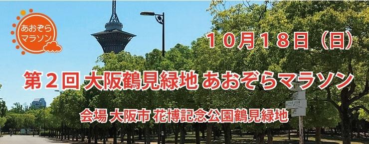 第2回 大阪鶴見緑地 あおぞらマラソン