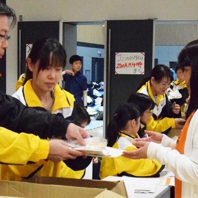 第12回「文京 20km駅伝・ハーフマラソン大会」ボランティア
