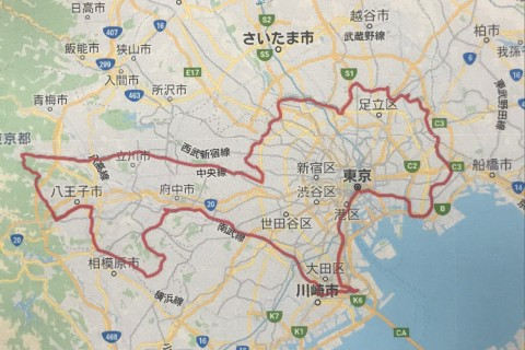 東京グレートレース250km