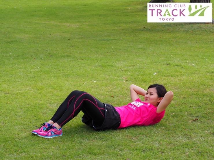 ランナーに必要な腹筋トレーニング@皇居