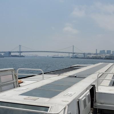 平日昼間 東京観光 水上バスラン 約13キロ 約キロ7分半 2900円乗船代込み