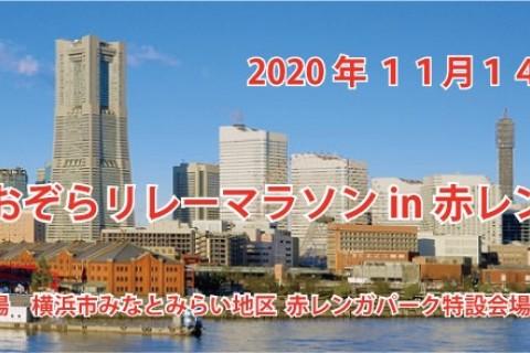 横浜あおぞらリレーマラソンin赤レンガ2020