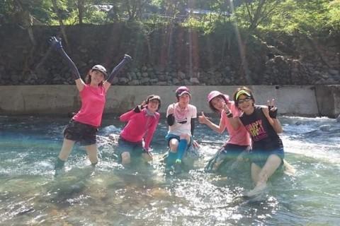 【嵐山musubi-cafe】清滝川ドボントレイルラン!