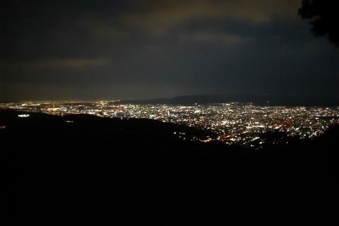 初めてのナイトトレイルラン~京都大文字山へ~