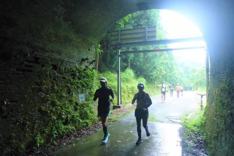 ちょこっとトレイル木ノ芽峠+トンネル続く廃線道 たのしみラン