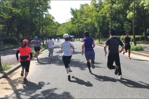 大阪城公園モーニングラン2   Viento Running Club