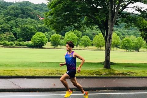 競技場を使った夏のタイムトライアル2km〜5km+ 持久力をつける下半身筋トレエクサ@皇子山