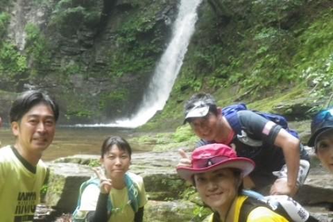 赤目四十八滝 清涼トレイル 約22km 青葉深緑編 名張の湯入浴券付き