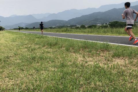 ★月例マラソン走力チェック(5km走・12分間走)+α ※東温重信川土手
