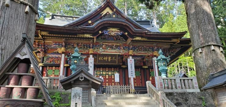 関東最強パワースポット 三峯神社トレラン 約50キロ キロ約7~7分半 3500円