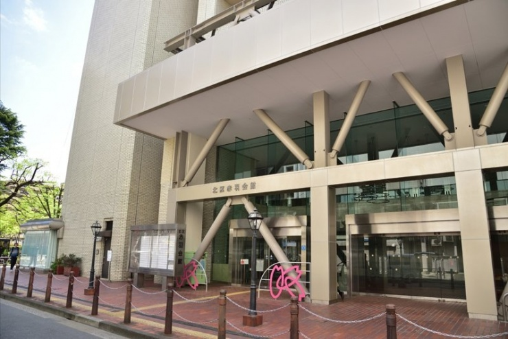 赤羽会館:スタート/フィニッシュ会場(4F:)
