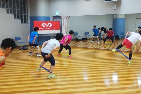 8月開催分 大阪 ドリル(動きづくり運動)&筋トレ練習会 Supported by McDavid