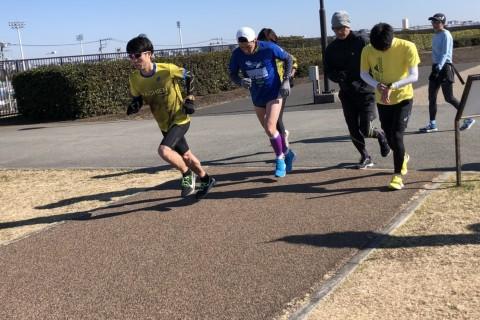 【5月平日夜定例】ラチエンAC インターバル走練習会(800×6)