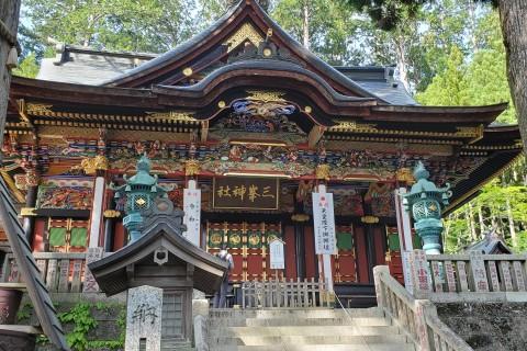 お泊まり 関東最強パワースポット 三峯神社1泊2日かるいトレラン 計約20キロ 15000円