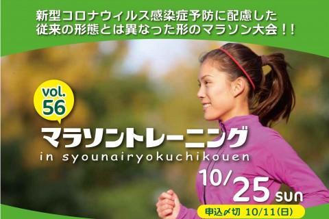 第56回マラソントレーニング in 庄内緑地