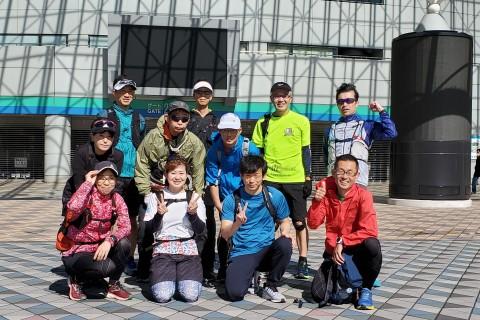 新大江戸線1周ラン 約42キロ キロ約7分 3200円