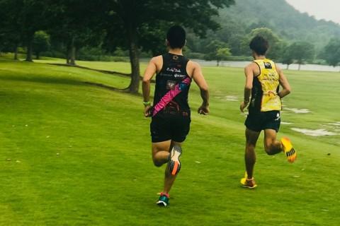皇子山・競技場で行う一人なら途中で辞める1kmインターバルトレーニング