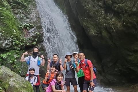 清涼 奥多摩のパワースポット 御嶽山トレラン 約19キロ 3200円