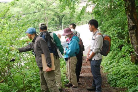 大山を知る自然観察会/DGR FES 2020 特別ガイドツアー