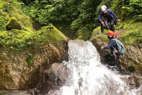 大山本気の水遊び/DGR FES 2020 特別ガイドツアー