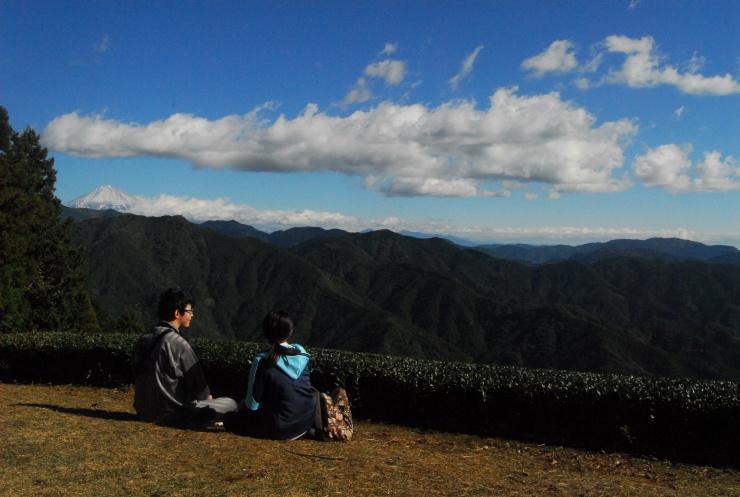 山頂CPからの景色