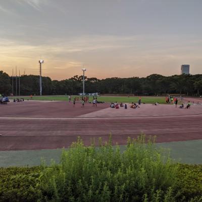 【RunField】ナイター5000mタイムトライアル会@織田F(東京)(9月19日)