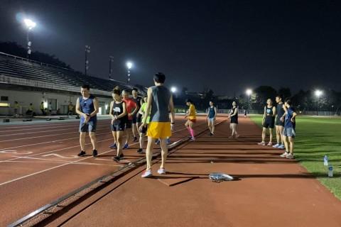 パロマ瑞穂北陸上競技場練習会「400m×8~15本夕涼みのインターバル!!」